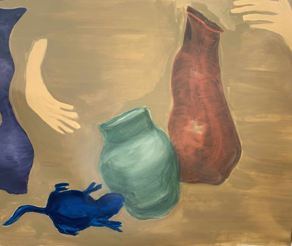 Pots and Hands - 1